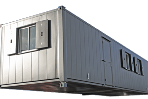 smooth sided accommodation unit