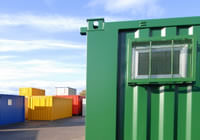 Bespoke shipping container units