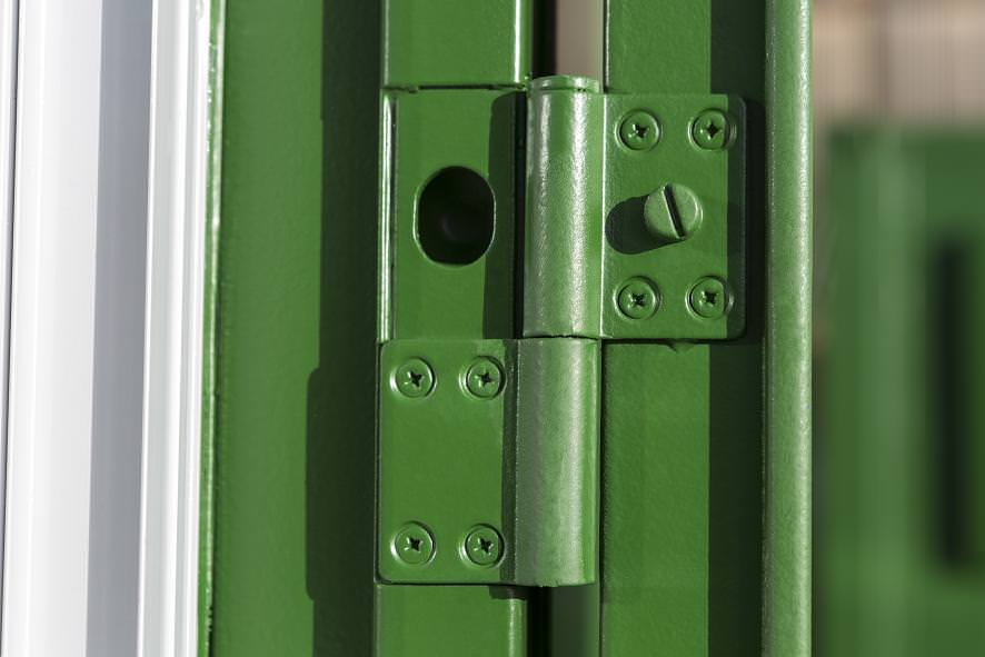 container door hinges