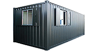 Secure Office Accommodation Container Hire